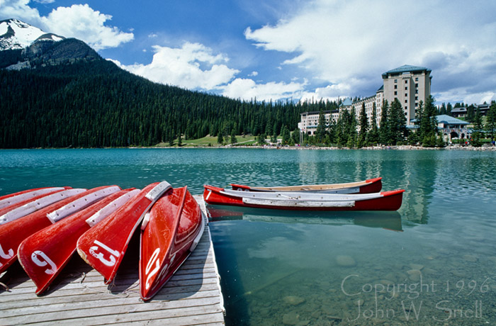 Lake Louise Boats
