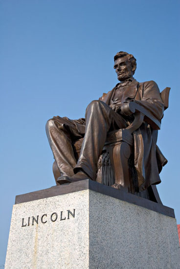 Lincoln Statue, Hodgenville, Ky