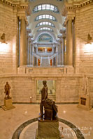 Lincoln Statue in Rotunda