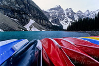 Moraine Lake Boats
