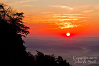 Sunrise at Cumberland Gap